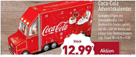 coca cola adventskalender 2016 coca cola adventskalender 2019 wo kaufen preis