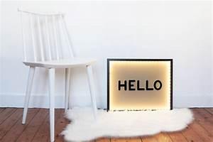 Boite Lumineuse Lettre : comment fabriquer une boite lumineuse murale ~ Teatrodelosmanantiales.com Idées de Décoration