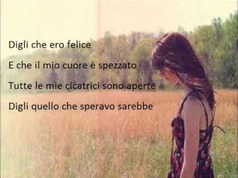 Traduzione Testo Impossible Lorenzo Fragola Impossible Lyrics Lyrics