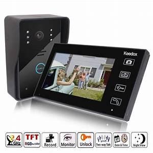 Interphone Video Sans Fil Pas Cher : visiophone ecran pas cher ~ Edinachiropracticcenter.com Idées de Décoration