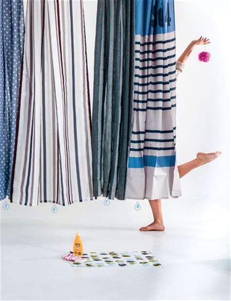 selection de rideaux de douche design  originaux cote