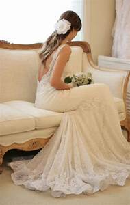 dress lace dress wedding dress backless low back lace With low cut back wedding dresses
