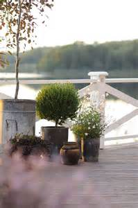 Outdoor Living Areas with Plants
