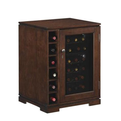 Tresanti Wine Cabinet With 24 Bottle Cooler by Tresanti Cabernet Wine Cabinet 18 Bottle Wine Cooler In