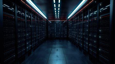 server room lights dark data center datacenter