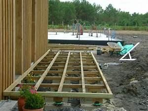 pose terrasse bois landes 40 terrasse en bois blanc With pose de terrasse en bois