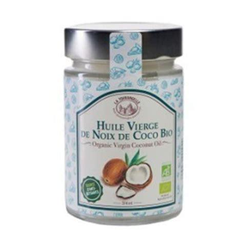 huile de noix de coco potentiel vital