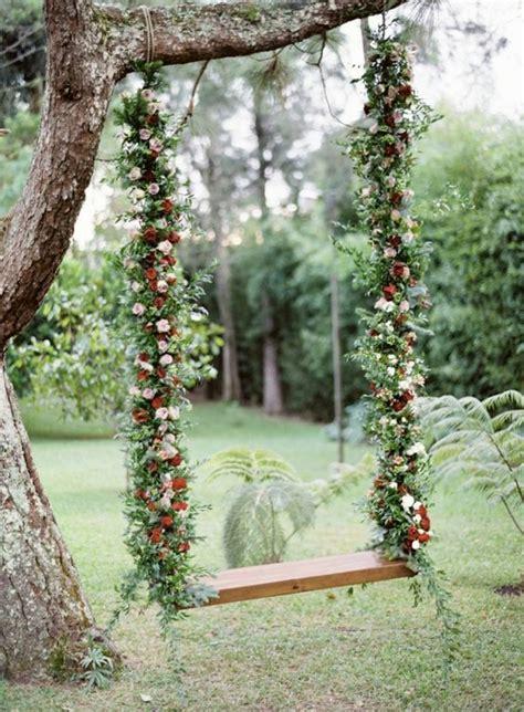 35 Eye Catchy Swing Ideas For Outdoor Weddings Weddingomania