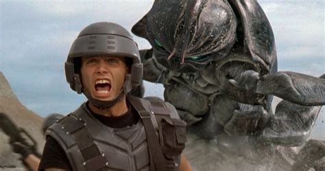 Starship Troopers Shower - ed neumeier on starship troopers robocop and that shower