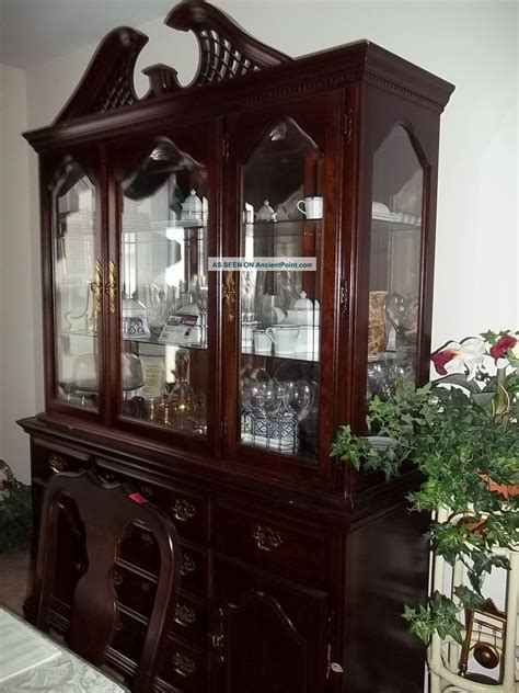 china cabinet dining table dining room table and china cabinet marceladick com