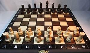 Schachspiel Holz Edel : schach sehr sch nes schachspiel aus holz schachbrett 27 x ~ Watch28wear.com Haus und Dekorationen