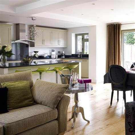 ideas for open plan living areas open plan kitchen and living area open plan designs kitchens housetohome co uk
