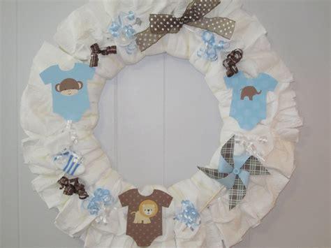 baby boy wreath boy baby shower decoration baby boy