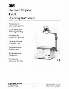 3m Ohp1720n Projector Download Manual For Free Now