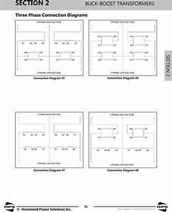 C17 3 Phase 208 240 Buck Boost Transformer Wiring Diagram