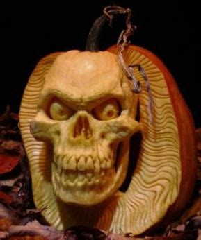 Where Did Carving Pumpkins Originated by Extreme Pumpkin Carvings