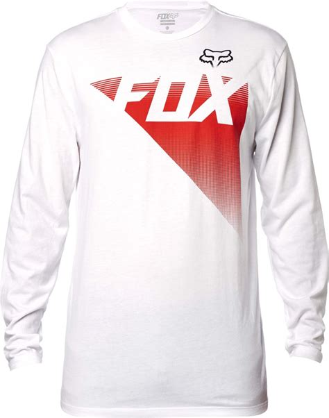 fox motocross shirt fox racing mens destro motocross long sleeve t shirt ebay