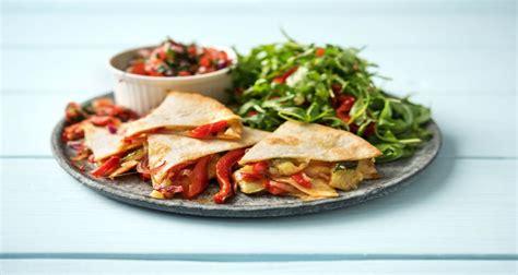 Garden Quesadilla by Garden Quesadillas Recipe Hellofresh