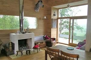 extension bois extension maison extension en bois d With agrandissement cuisine sur terrasse