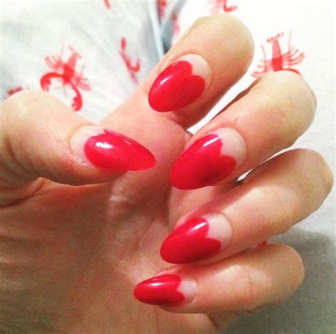 cutest heart nail designs perfect  valentines day