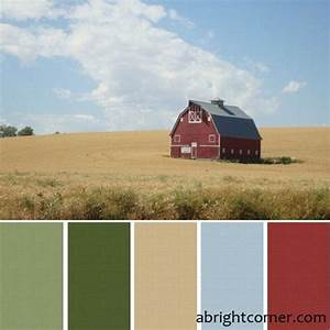 love this color scheme for the master walls are close to With barn red color schemes