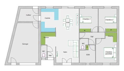 chambre d implantation pour chimio avis sur un plan plain pied sur terrain triangulaire 47