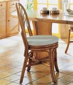 Chaise De Bar En Rotin : chaise rotin avec dossier arrondi brin d 39 ouest ~ Teatrodelosmanantiales.com Idées de Décoration