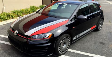 custom vehicle decals  sw tunning gti monster image