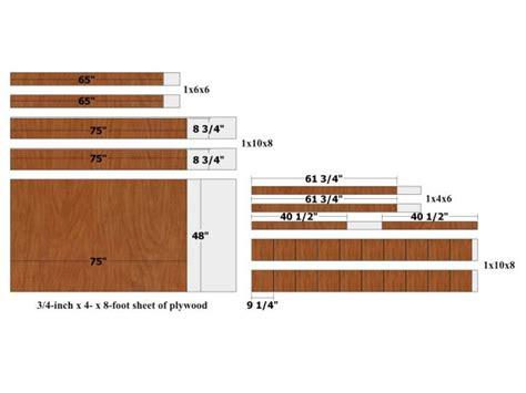 build  modern style platform bed  tos diy