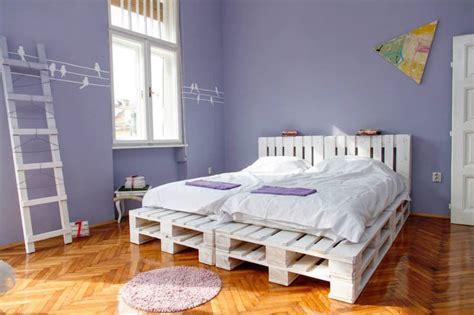 chambre en palette un meuble en palette de bois pour chaque pièce de la maison