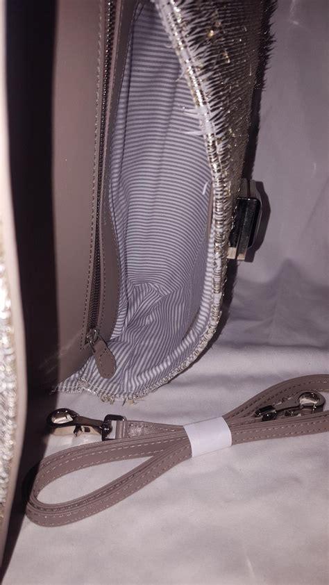 rose beck lola gold tone eyelash fringe leather shoulder bag  sale  stdibs