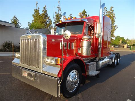model semi trucks peterbilt model 379 transformer semi truck image hd