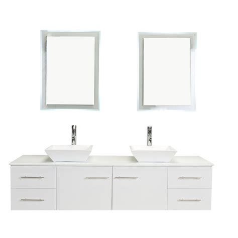 72 inch double sink vanity top totti wave 72 inch white modern double sink bathroom