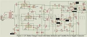 Circuit Diagram 12v Battery Charger