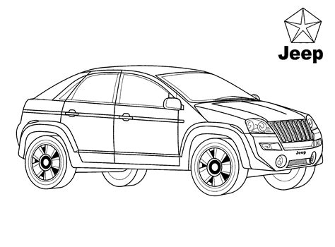 disegni da colorare jeep disegni da colorare jeep varsity usa