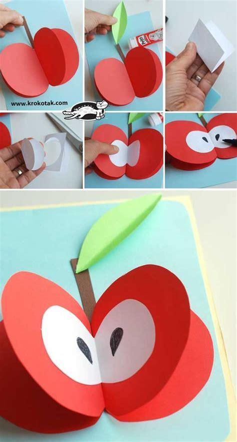 krokotak  paper fruits crafts  kids preschool
