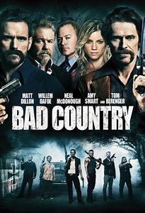 Movie poster for Bad Country - Flicks.co.nz