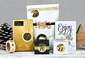 Ausgefallene Geburtstagskarten Selber Basteln : ausgefallenes adventskalender set golden christmas miomodo blog ~ Frokenaadalensverden.com Haus und Dekorationen