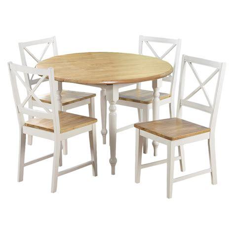 target dining room set 5 piece virginia dining set white