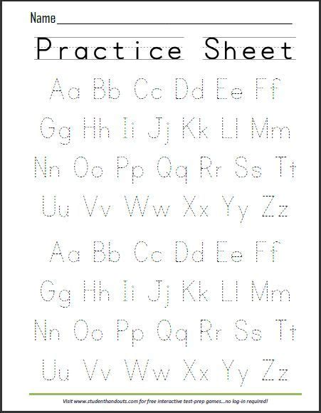 get 20 alphabet worksheets ideas on without
