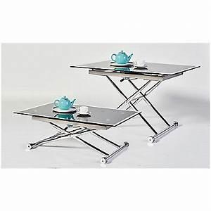 Table Basse Relevable Pas Cher : table basse pas cher ~ Teatrodelosmanantiales.com Idées de Décoration