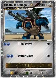 Pokémon Blastoise Omega - Tidal Wave - My Pokemon Card