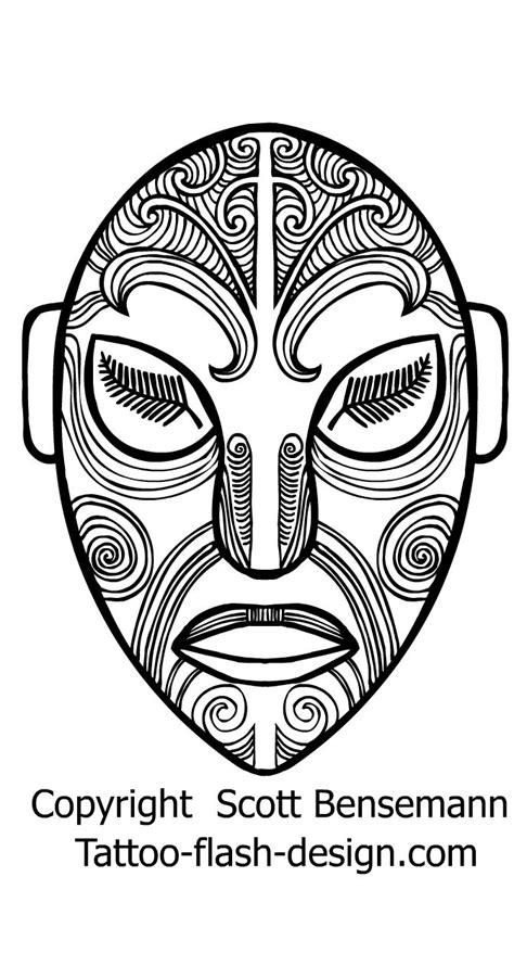 the face tiki NZ silver fern eyes Maori tattoo
