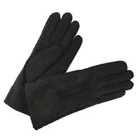 gants cuisine anti chaleur gant mouton retourné femme noir glove tous les gants