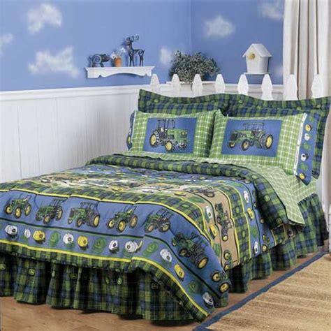 john deere comforter sheet set