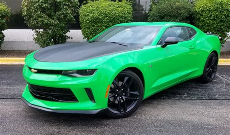 Camaro V6 1le by Test Drive 2017 Chevrolet Camaro 1le V6 The Daily Drive