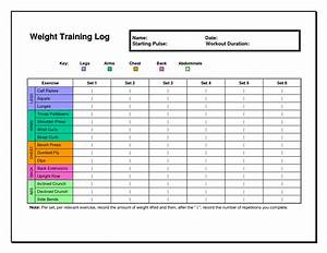 6 best images of free printable weight lifting workout With fitness program template free download