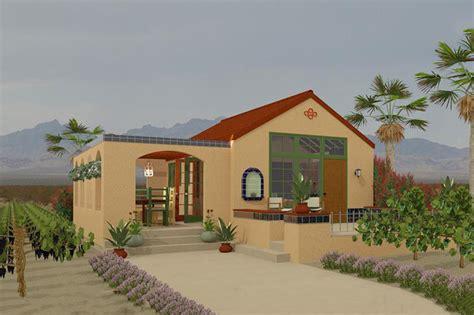 southwestern home plans adobe southwestern style house plan 1 beds 1 baths 398