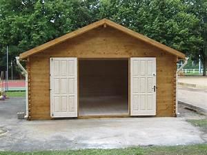 Garage Bois 20m2 : cabane jardin 20m2 l 39 habis ~ Melissatoandfro.com Idées de Décoration