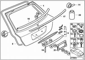 Original Parts For E46 318ti N46 Compact    Bodywork